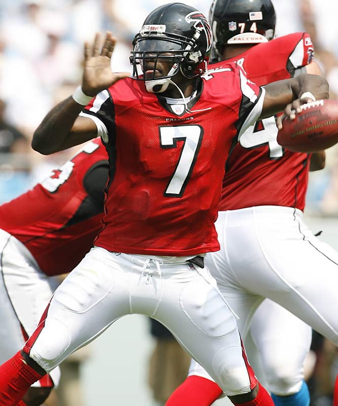 Vick's fans are still waiting for him to deliver on the enormous potential he has had since entering the league as the No. 1 pick in 2001. He has dazzled enough in spurts to earn one of the largest contracts in NFL history, but he needs to perform more consistently to reach the promised land.