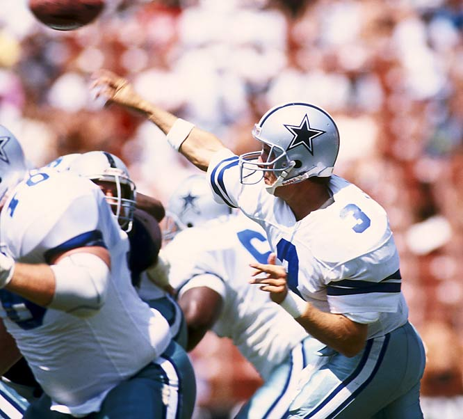 Acting on the advice of his agent, Walsh let the draft deadline go by without filing. He was taken by the Cowboys in the first round of the supplemental draft and remained in Troy Aikman's shadow early on. He had a respectable 11-year career with six teams.