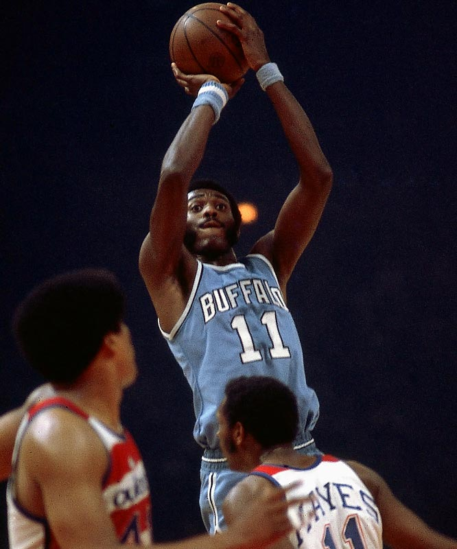 McAdoo, the second pick in the 1972 draft, won three consecutive scoring titles with the Boston Braves from 1973-76. But with McAdoo in the final year of his contract in 1976-77, Buffalo traded him during the season to the Knicks for center-forward John Gianelli and cash. McAdoo would be part of two more in-season trades, including one in 1981 that sent him from New Jersey to the Los Angeles Lakers, with whom he won championships in `82 and `85.