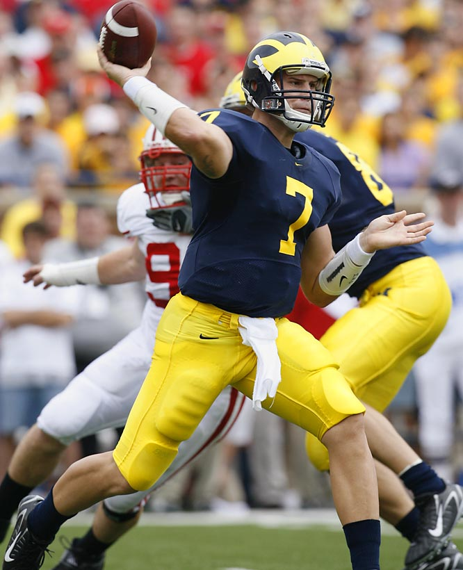 Michigan's starter for the school's past 37 games, Henne enters the season that will truly define his place among former Wolverine signal-callers. With the talented offensive pieces that surround him, Henne should enjoy a prolific senior campaign.
