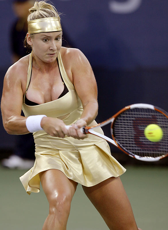 U.S. tennis player Bethanie Mattek wore quite the outfit during her match on Tuesday.