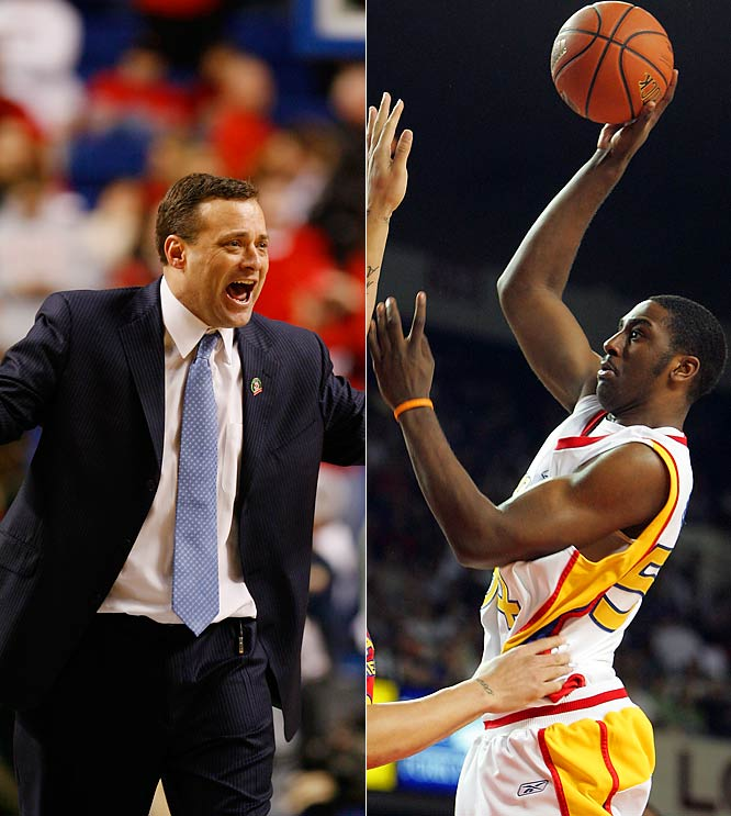 Billy Gillispie and his superstar recruit Patrick Patterson get tested Nov. 15-16 at the Coaches V. Cancer Classic.