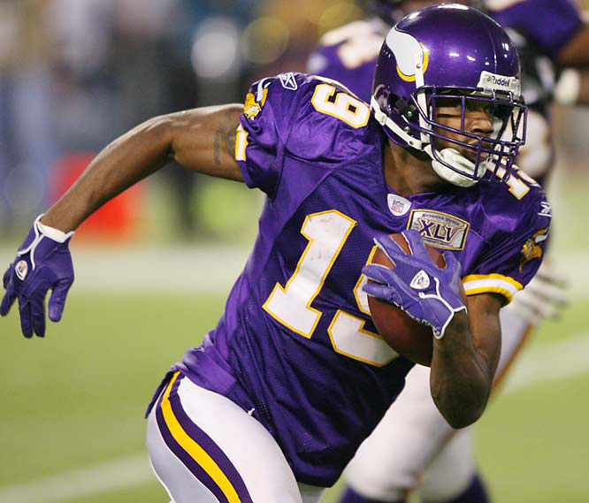A two-time South Carolina track champion in both the 100 and 200 meters, Williamson serves as the prototypical stretch-the-field receiver with the Vikings, who could not resist drafting the speedy wideout with the No. 7 overall pick in 2005.