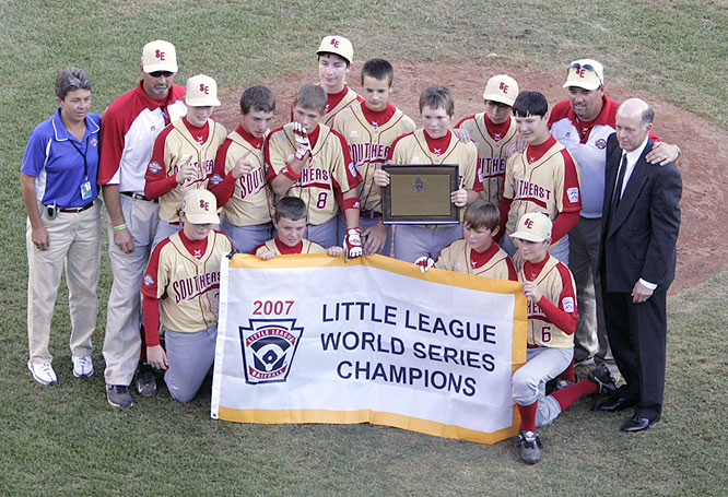 Warner Robins also extended the United States' longest streak since 1959-1966, a stretch of eight straight American victories.