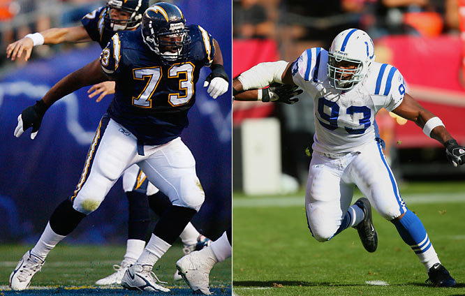 "Week 10 - November 11<br><br>Is Freeney finally slowing down? The man with 56 1⁄2 sacks over the last five years had a mere 5 1⁄2 last year. It's a deceptive stat. According to <i>Pro Football Prospectus 2007</i> , Freeney hurried quarterbacks 33 times, tops in the NFL. In Week 10 he'll try out his nonpareil moves on San Diego's second-year left tackle, the 6-foot-7, 336-pound McNeill. The two didn't face each other in McNeill's rookie year, but rest assured the league's most promising line prodigy knows what he's up against. ""I usually watch a lot of tape of defensive ends,"" McNeill says. ""I just catch him on his highlight film."" And what does he see? ""Speed, speed, speed. Spin, spin, spin."""