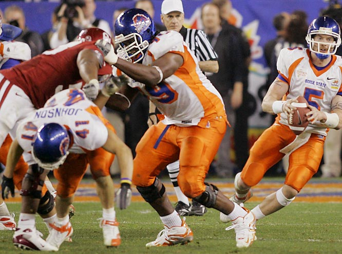 The 6-foot-6, 317-pounder is the most dominant force on a talented Broncos offensive line. Clady starred in the Fiesta Bowl against an imposing Oklahoma defense.