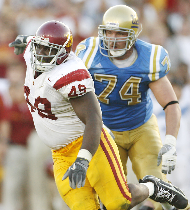 This 6-foot-1, 285-pounder is the rock at the center of USC's extremely talented defense. Ellis, who bench presses more than 500 pounds, is the strongest player on the Trojans roster.