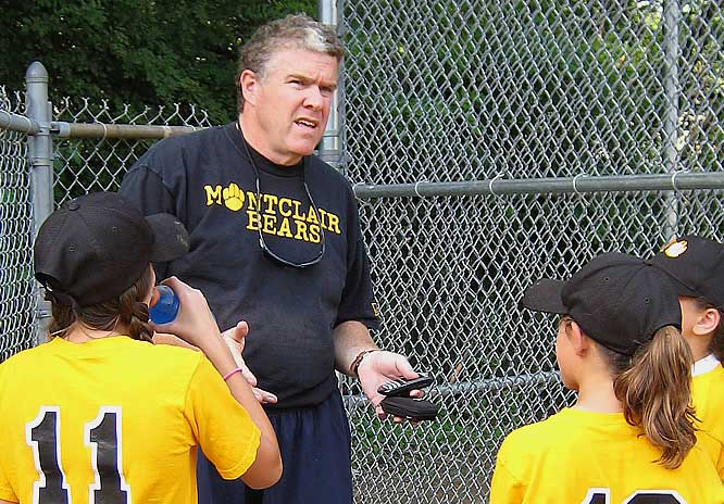 Coaching the Montclair Bears before I left on my training camp journey.
