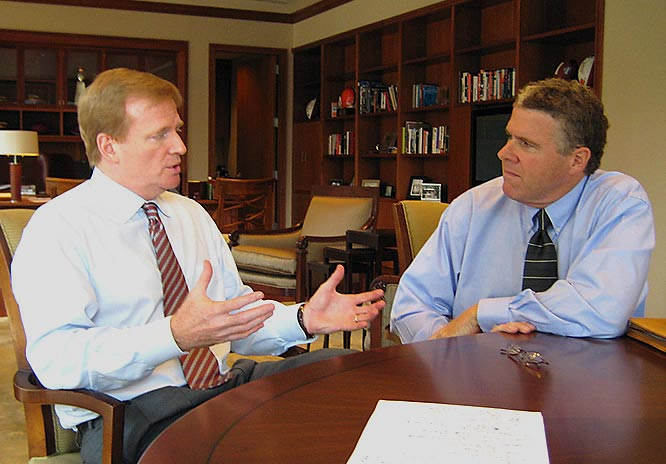 I sat down with Roger Goodell in his Manhattan office to discuss a wide array of NFL issues.