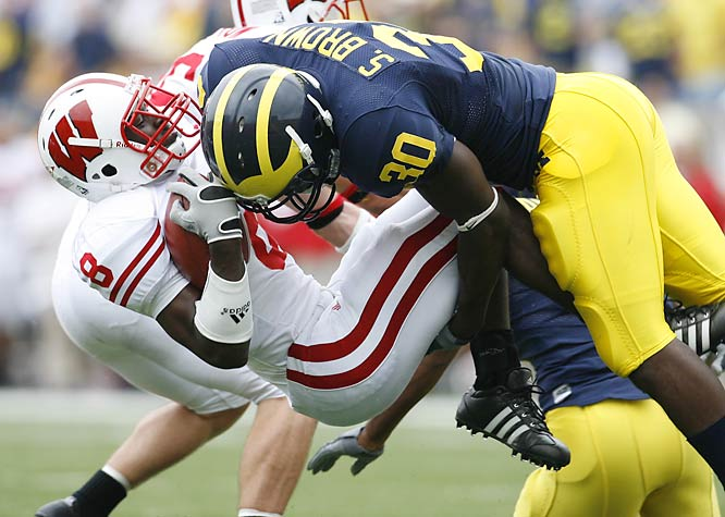 With eight home games, including Ohio State, Penn State, Notre Dame and Oregon, the Wolverines may have the best schedule of any top-tier title contender, but this late-season trip to Madison looms large. Wisconsin will be out for revenge, as Michigan handed the Badgers their only loss last season.