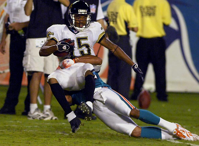 Broussard has made a great case to earn a spot with the Jags. He caught three passes for 66 yards in an 18-17 loss to the Dolphins.