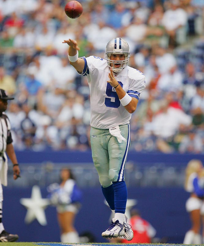 Romo looked sharp in the Cowboys' preseason opener against the Colts. The Cowboys' starter complete 10 of 11 passes for 93 yards in a 23-10 victory.