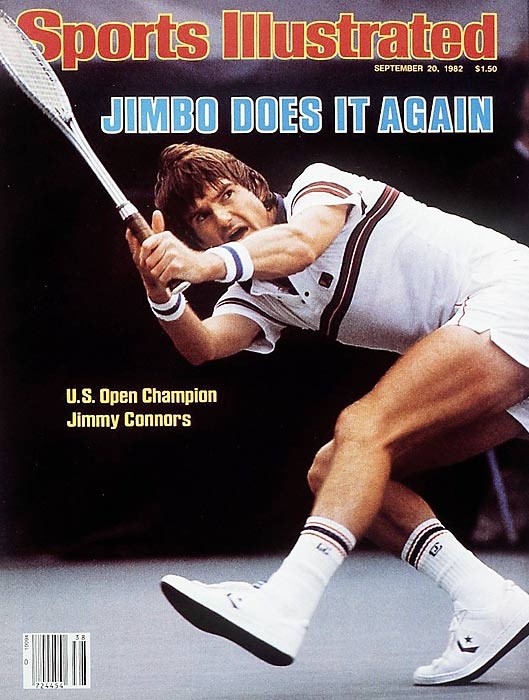 At 30, he was considered old for the sport, but Jimmy Connors owned tennis in 1982. He won at Wimbledon, an epic five-set final over top-ranked John McEnroe to claim his second Wimbledon title, eight years after his first, and later took the U.S. Open by winning the final over Ivan Lendl. By year's end the old man was No. 1 in the world.