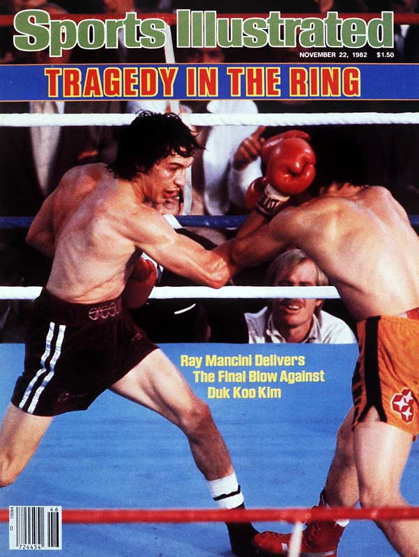 It was one of the sporting tragedies of the decade. Boxer Duk Koo Kim died five days after Ray Mancini knocked him out in the 14th round of their Nov. 13  fight. The bout ended up leading to reforms in the sport regarding a fighter's medical care before bouts. New rules also reduced fights from 15 to 12 rounds.