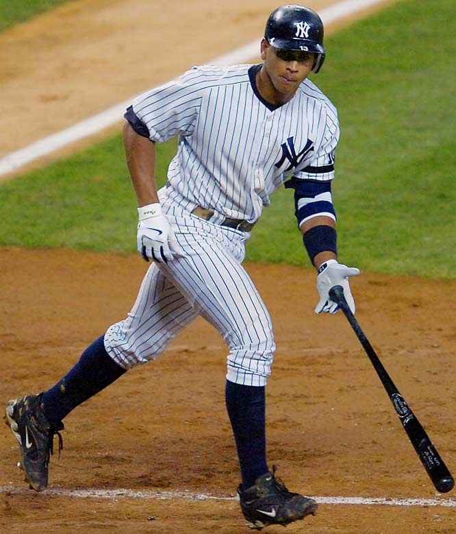 A-Rod begins his remarkable hot streak with a solo shot in the bottom of the sixth to give the Yankees a 2-0 lead over Seattle on Tuesday. The Yankees went on to rout the M's 12-3.