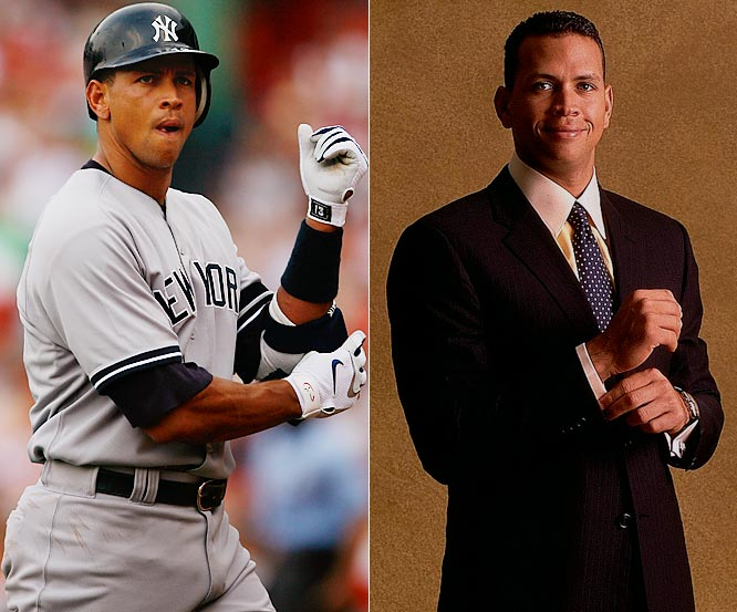 (First in a series of galleries to determine the best dressed male athlete in professional sports.)<br><br>A is for A-Rod, who makes lots of money and spends his fair share on Giorgio Armani. And wears it the way he hits it: Outta the park.