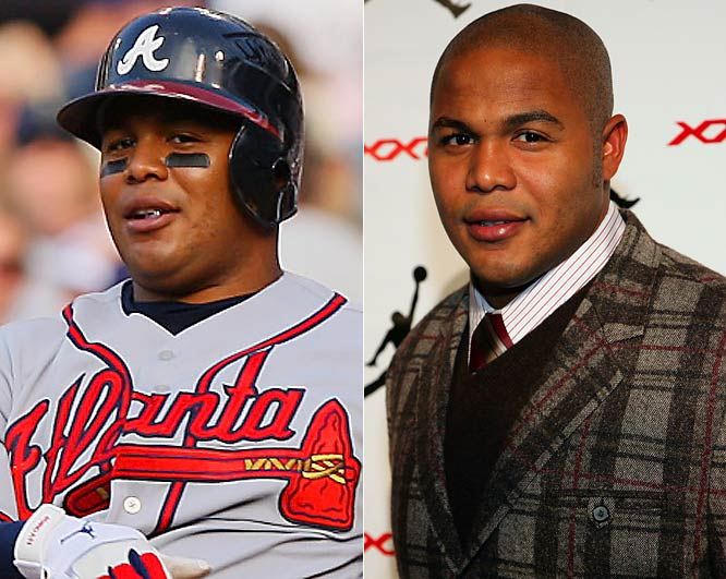 He's had a nightmarish year at the plate, and may have lost a half-step afield. Yet Andruw Jones is no fashion faux pas. He can still pick it -- off the rack and against the wall.