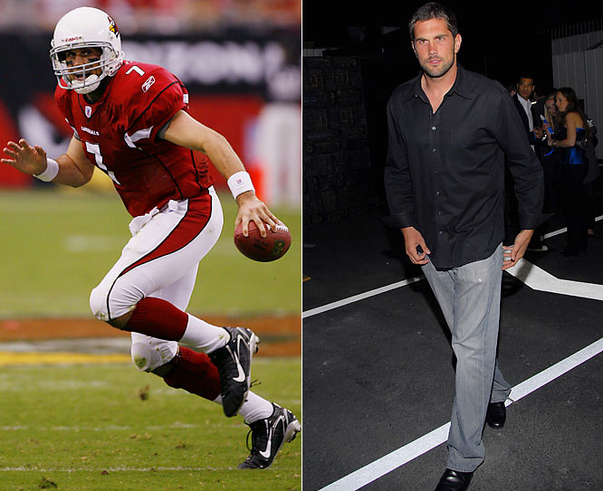 He's graduated from college jock grunge at Southern Cal to Arizona casual cool. The Cardinals' quarterback is now the chic of the desert in the Valley of the Sun.