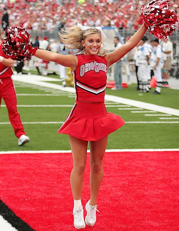 Image result for ohio state university cheerleaders