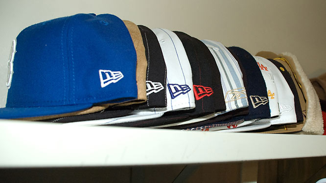 B-Rob's extensive cap collection is the staple of his attire. Walking through campus, B-Rob can rarely be found without  one of his signature caps.