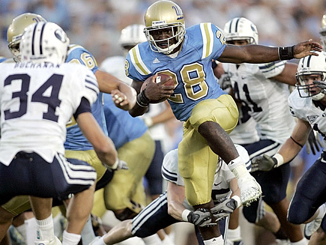 UCLA running back Chris Markey clinched the victory for the Bruins with a touchdown late in the fourth quarter.