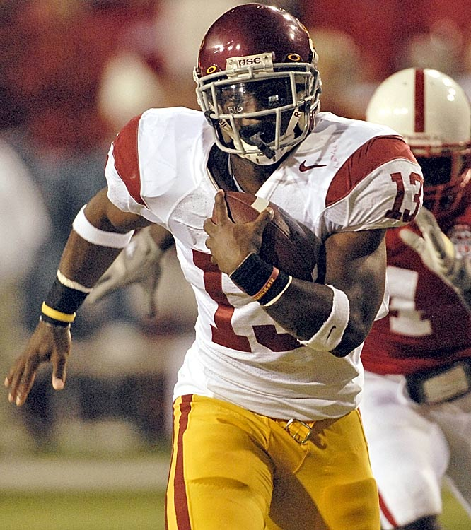 Trojans running back Stafon Johnson ran for 144 yards and a touchdown on just 11 carries in the dominating USC win.
