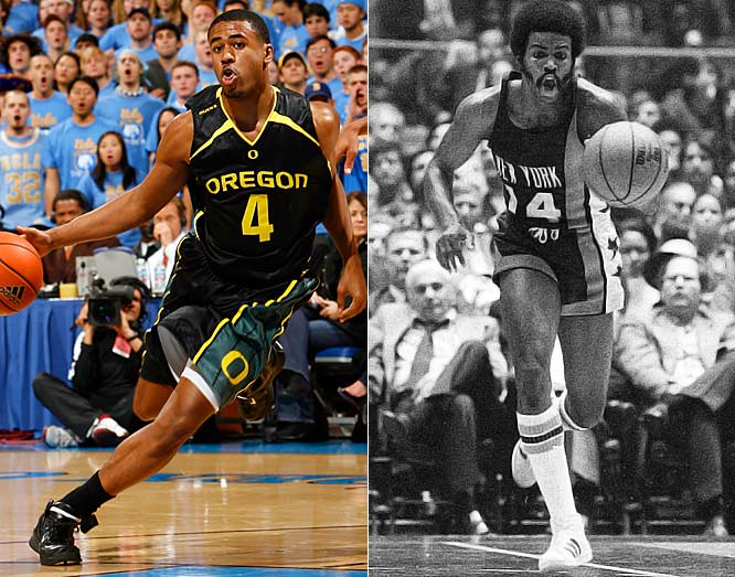 A second-round draft pick out of Princeton in 1972 and nine-year pro player,  Brian coached his son in AAU. The advice paid off: His son is entering his senior year at Oregon, where he earned Pac-10 all-freshman honors.