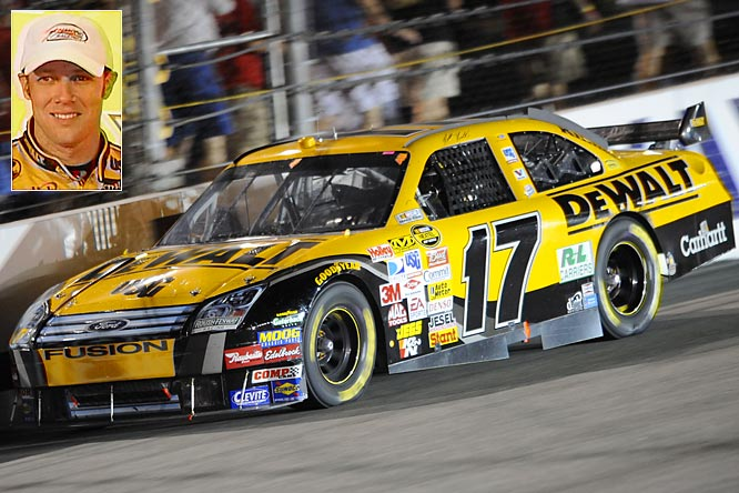 Under the radar but consistent, Kenseth is looking for his second Nextel Cup title. He's been too quiet this season considering the quality of his competition. His steadiness won't be enough, however, unless he wins a couple of races during the Chase.