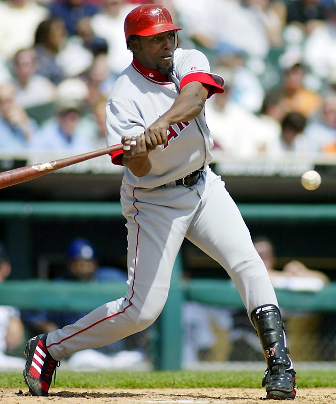 Vladimir Guerrero's incendiary September (.363, 11 home runs, 25 RBIs) earned him AL MVP honors in 2004 and led the Angels to win the AL West by just one game over the A's.