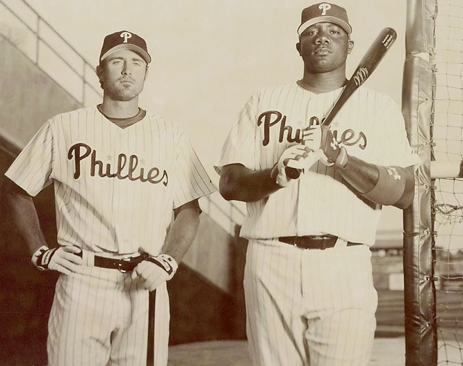 In the midst of a wild card race, Chase Utley and Ryan Howard attempt to combine their smooth hitting and power slugging in an effort to propel the Phillies to their first playoff appearance since 1993.