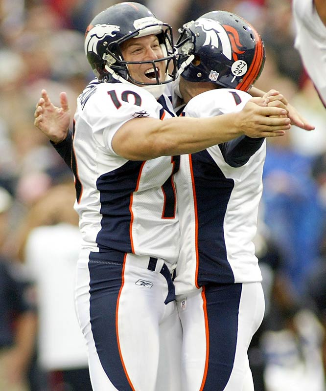 Jason Elam and the Broncos field goal unit scrambled onto the field to convert a 42-yard attempt just as time ran out, lifting Denver past the stunned and injury-depleted Bills.
