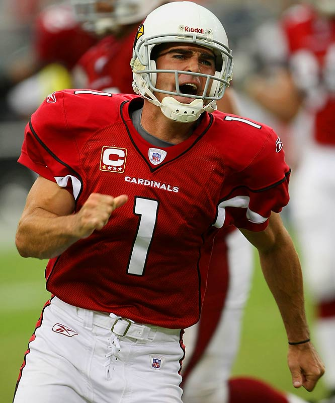 After hitting a 52-yard field goal to tie the game late in the fourth quarter, Neil Rackers nailed a 42-yarder with one second left as the Cardinals defeated the three-time defending NFC West champion Seahawks.