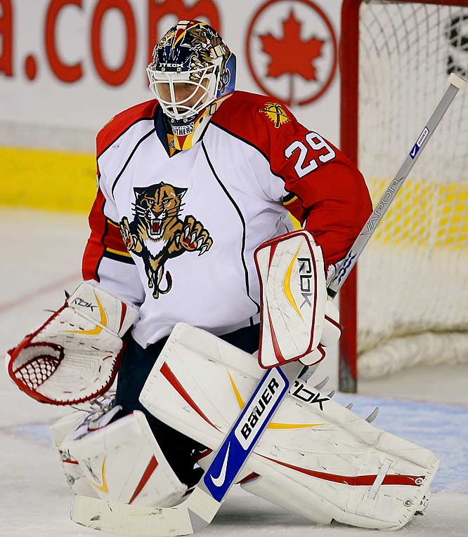 The Panthers took a step toward returning to the playoffs for the first time since 2000 when they dealt for Nashville's formidable netminder. Vokoun, who had an illness- and injury-plagued 2006, can be streaky, but when he's hot, he's hot.