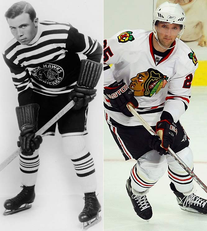 In the beginning, players wore humble wool sweaters. As the NHL's 91st season dawns, all 30 teams are clad in new streamlined uniforms made of four lighter ventilated fabrics that keep players cooler and drier while enhancing their speed and freedom of motion. Some have updated color schemes and new crests, although the Chicago Blackhawks will remain true to their familiar look.