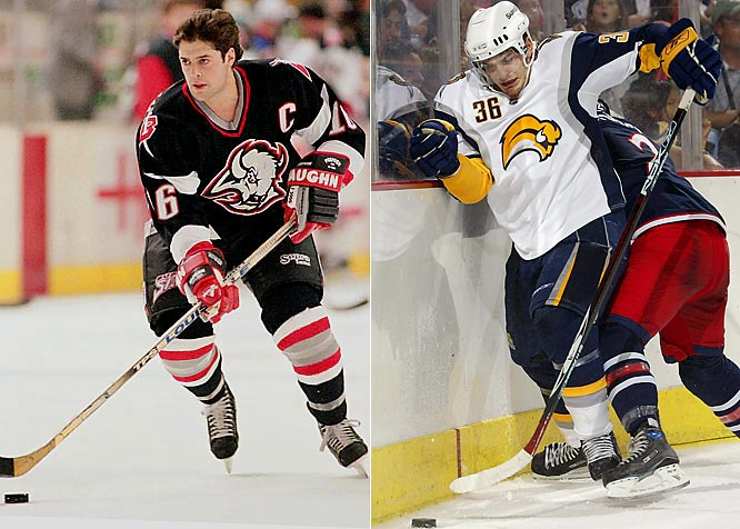 The Buffalo Sabres have been on the cutting edge of fashion. Their late '90s look foreshadowed much of this season's NHL-wide wave. Buffalo's current scheme, introduced last season, bears a number on the right breast (numbers were worn on players' chests as long ago as the 1940s) and a crest that has been assailed for resembling a slug -- hardly symbolic of a team feared for its speed.