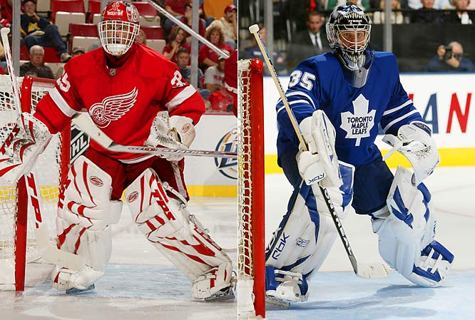 Some things never change. The Detroit Red Wings and Toronto Maple Leafs, two Original Six teams, have maintained their traditional looks.