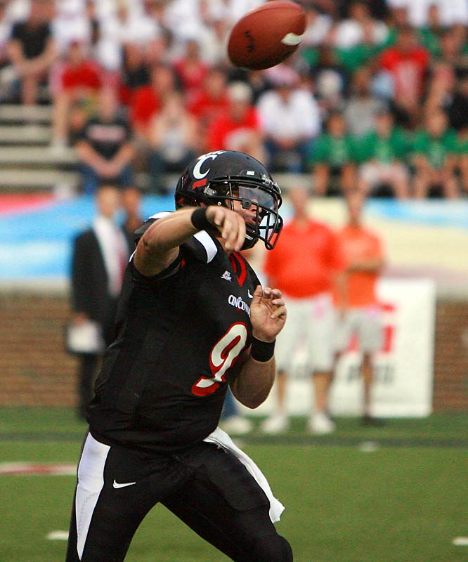 Mauk was Wake Forest's starting quarterback at the beginning of last season, but he suffered a broken throwing arm and torn labrum in the season opener. In less than one year, he transferred to Cincy, battled back from injury and won the Bearcats' starting job.