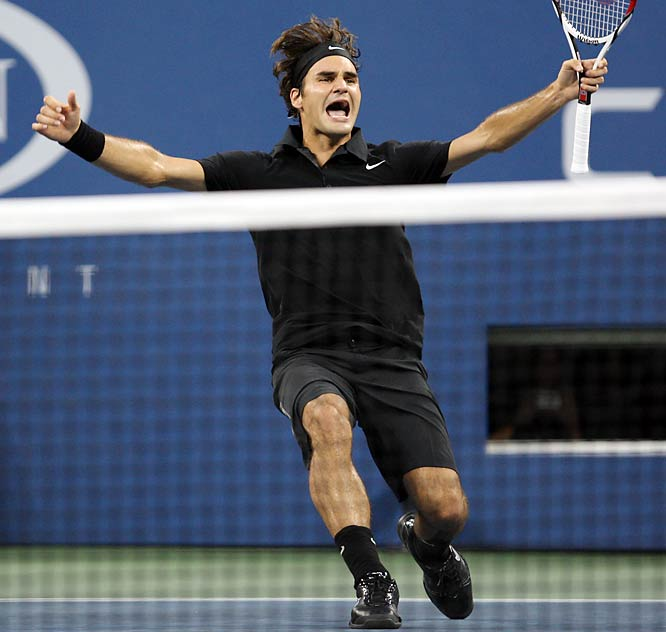 Federer is 38-4 lifetime at the Open and 52-6 in matches this year.