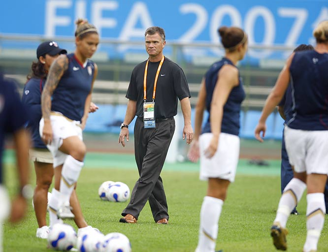 Greg Ryan has never lost as coach of the U.S. National Team. He's 39-0-7 since he took over from April Heinrichs in 2005.