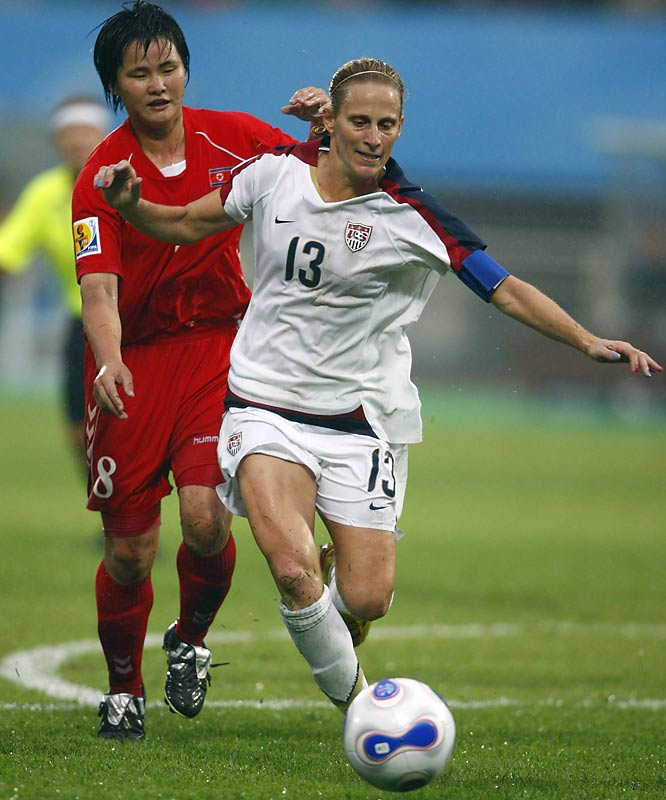 U.S. captain Kristine Lilly, profiled in last week's SI, is aiming for her third World Cup title. She played her first match, at age 16, on Aug. 3, 1987 against China. It was only the 16th game that the American women had ever played. Lilly has now made 332 international appearances.