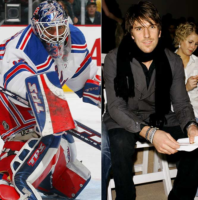 "Beneath all that padding and behind a goalie's stick and blocker lies ""King Henrik,"" one of People's 100 Most Beautiful in 2006. Off the ice, the Ranger likes scarves."