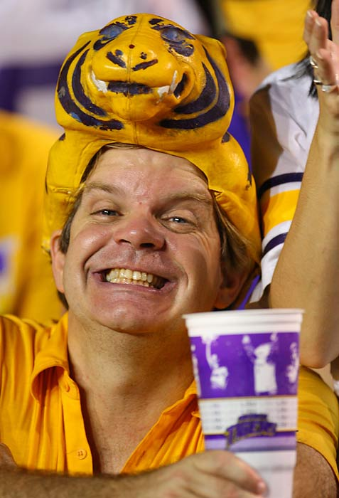 This Tiger fan just freaks us out.