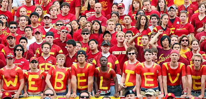 We believe that USC had a much tougher time then they should have in beating Arizona, 20-13.
