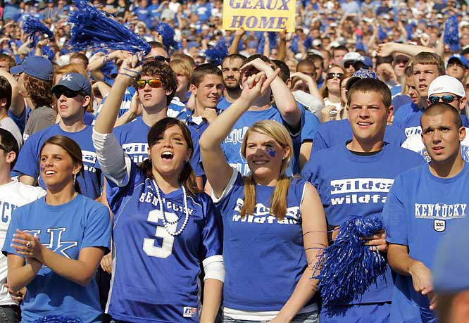 Wildcat fans show that UK is more than just a basketball school.