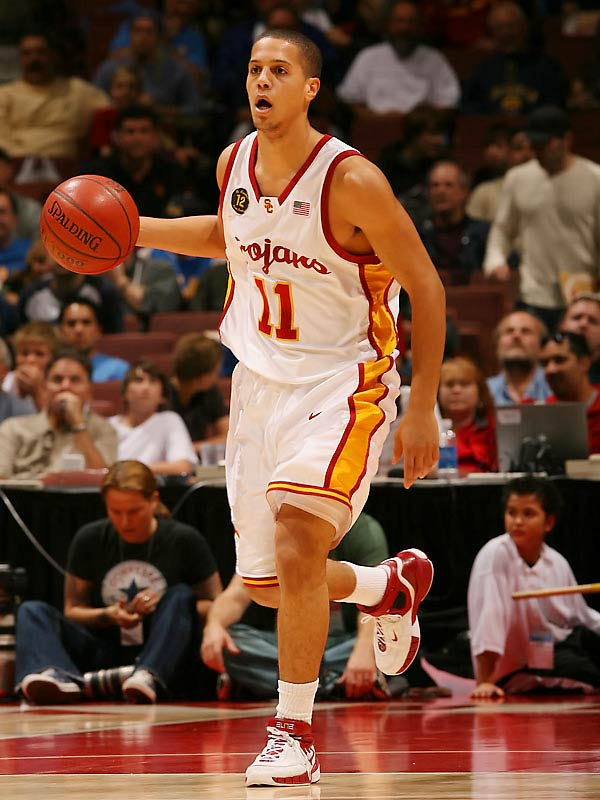 O.J. Mayo, Daniel Hackett (pictured), Angelo Johnson, Dwight Lewis <br><br>Hackett may start the season from the sideline after getting his jaw broken -- by Mayo's elbow -- during a workout late last month. Once healed, he and O.J. could turn into an electric duo that will have the Trojans in the thick of the Pac-10 race. Johnson, a late addition to the roster, should add valuable ballhandling depth off the bench.
