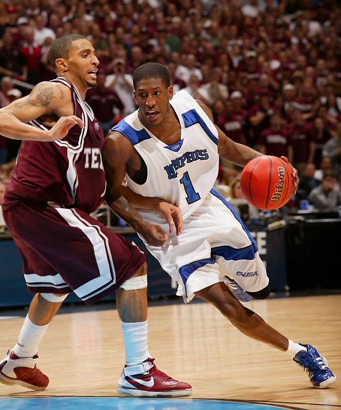Derrick Rose, Willie Kemp (pictured), Chris Douglas-Roberts, Antonio Anderson, Andre Allen, Doneal Mack<br><br>A talented crew, already five deep, added the country's top prep point guard, Derrick Rose. He'll pilot an offense that should once again shred Conference USA -- and this time get the Tigers into the Final Four. Never mind the apparent logjam at the point, either: Rose is going to start from Day One of what may be his only year under John Calipari.