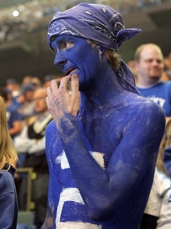 Rupp Arena was nothing but a sea of blue faithful as new head coach Billy Gillispie and his squad gave the fans something to cheer for.