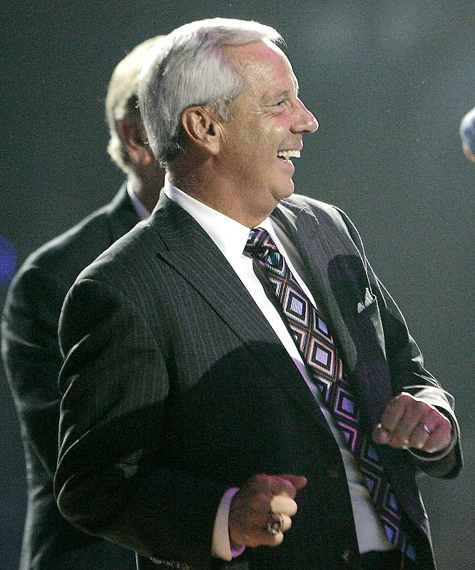 Tar Heels head coach Roy Williams has reason to be all smiles given the fantastic roster he has at his disposal.