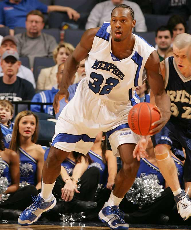 '06-07 Stats: 8.5 points, 9.4 rebounds, 2.2 blocks<br><br>Dorsey is a volatile character -- his verbal jabs at Greg Oden in the NCAA tournament were well-publicized, as well as eventually embarrassing, and he was also listed in the police report as the alleged instigator of the incident that led to Sean Taggart and Jeff Robinson's offseason arrests -- but he's still a tenacious rebounder. Last season, he pulled down double-digit boards in 19 of Memphis' 37 games.