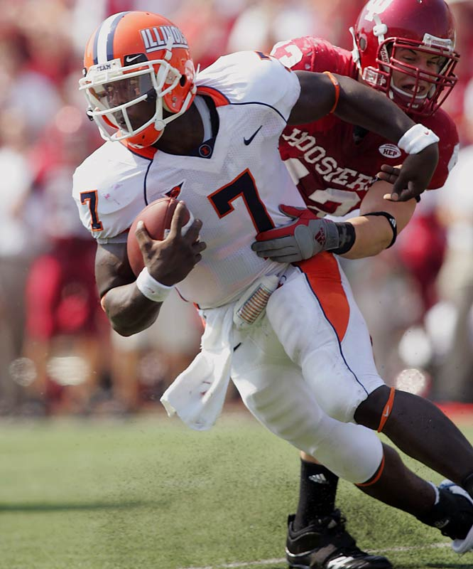 Even with the upstart Illini off to a surprising 4-1 start, their quarterback has not been getting the job done. Illinois coach Ron Zook claims Williams' starting role is safe, but backup QB Eddie McGee has been receiving legitimate playing time.